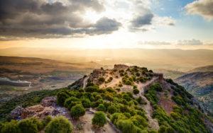 Castle Nimrod, Golan Heights, Israel