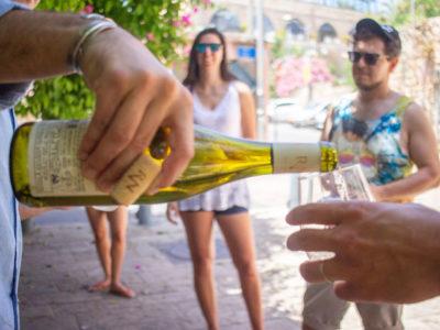 Cultural wine tasting walking tour in Jaffa : My Israel Wine Tours