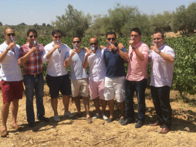 Enjoying a wine tour in Carmel Mountains, Israel with My Israel Wine Tours