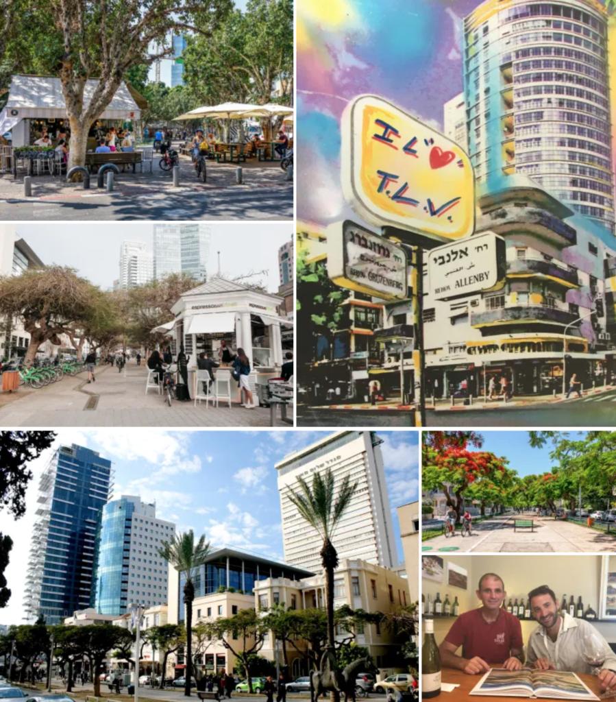 Walking with wine tour - Tel Aviv : My Israel Wine Tours