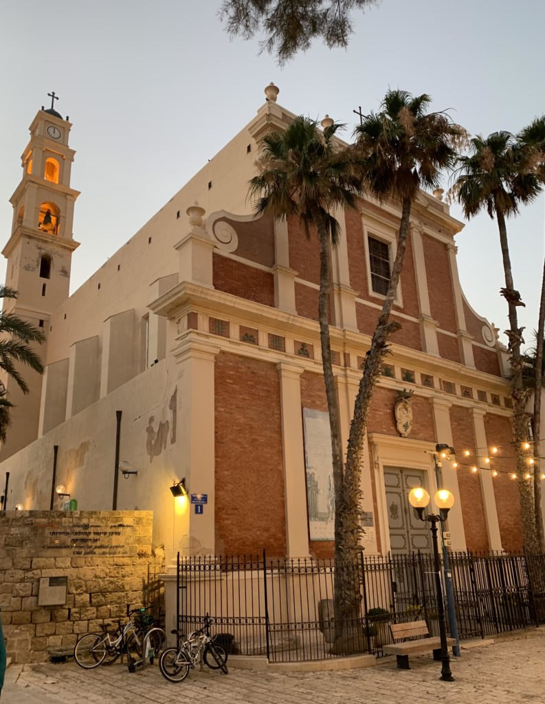 St. Peter's Church in Jaffa. One interesting stop on the Walking with Wine tour of Jaffa