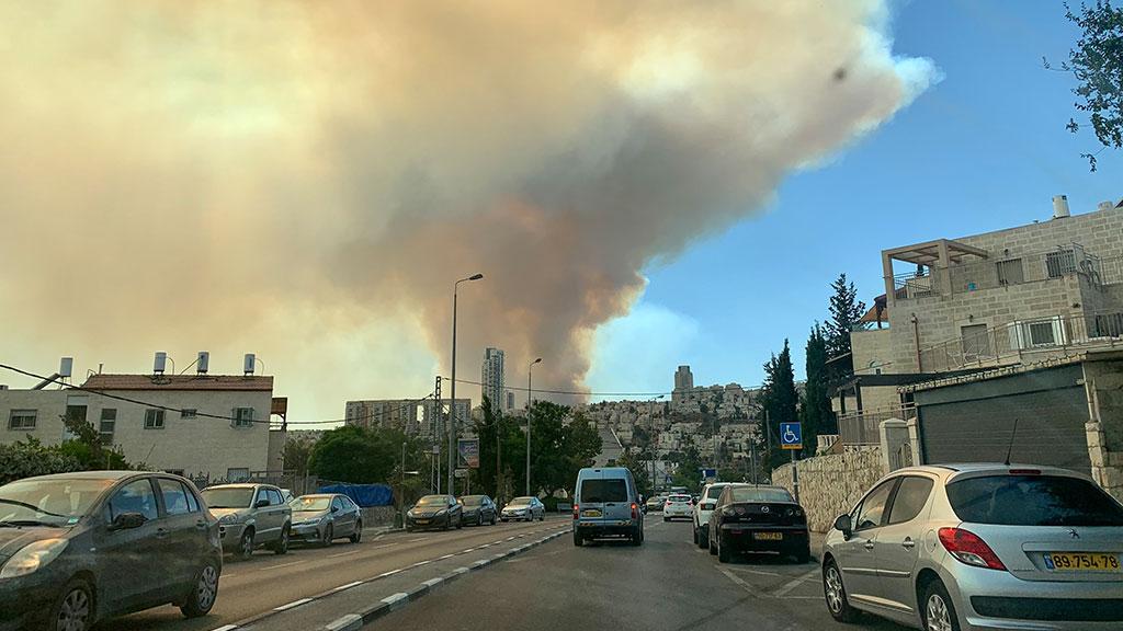 Fire in the Judean Hills - Summer 2021